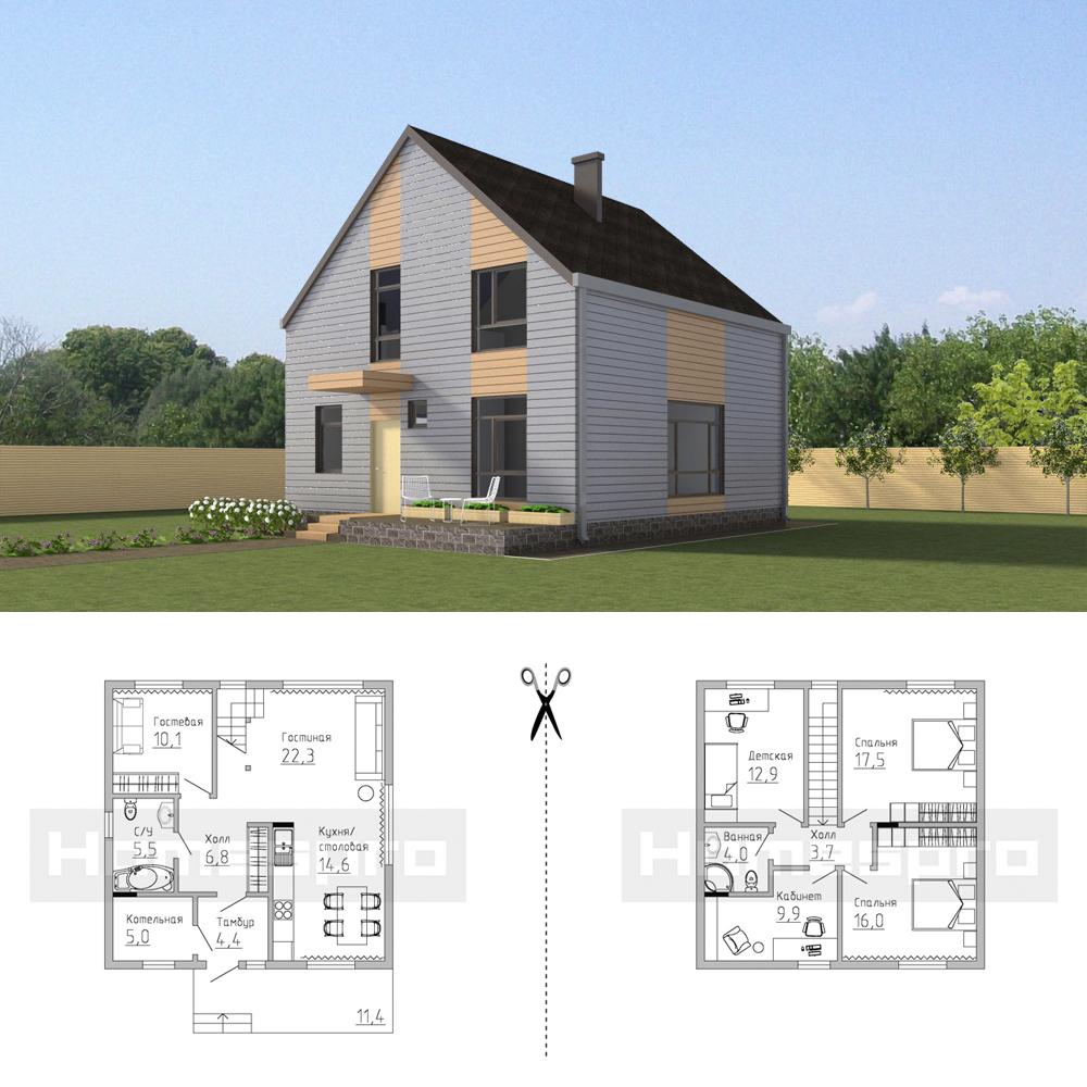 Проект-каркасного-дома-5-Подмосковье