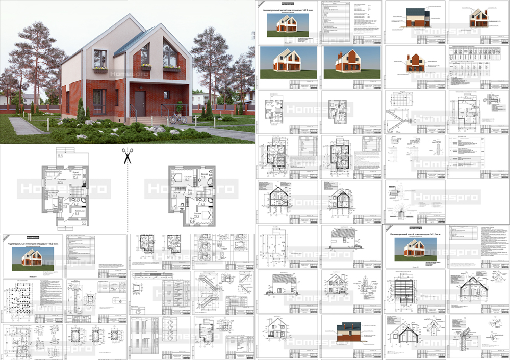 Проект-кирпичного-дома-Подмосковье