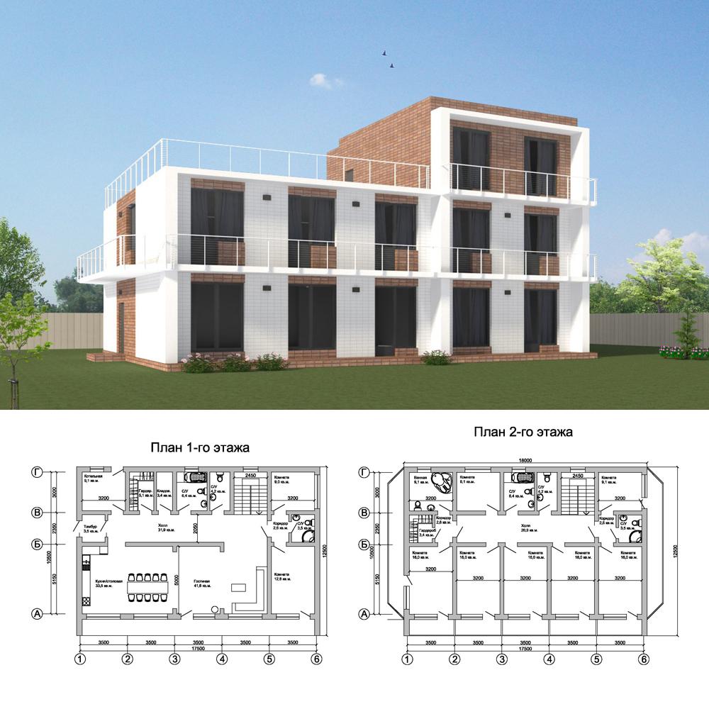 Проект-загородной-гостиницы-Подмосковье