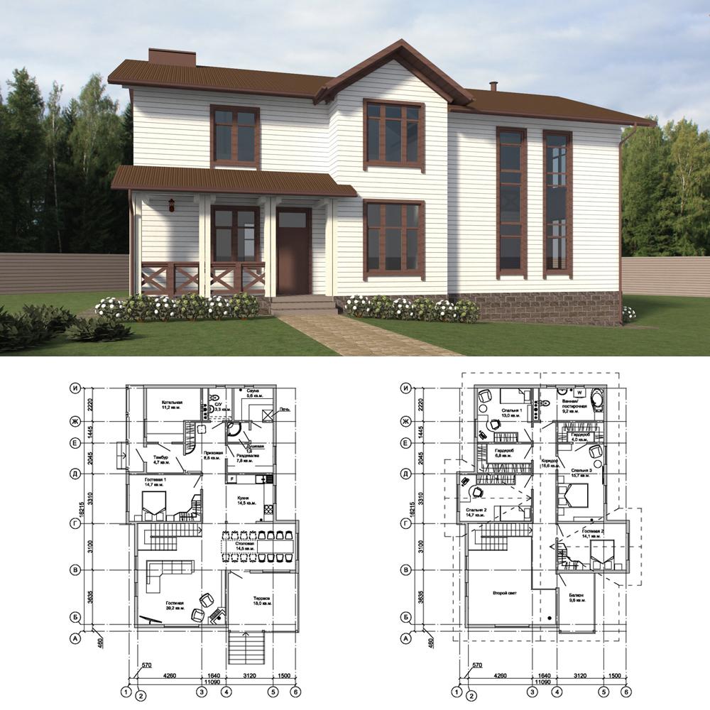 Проект-каркасного-дома-6-Подмосковье